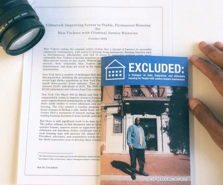 Excluded: A Dialogue on Safe, Supportive, and Affordable Housing for People With Justice System Involvement