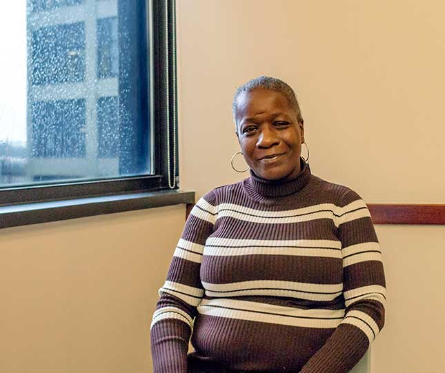 Felicia Allen, participant at The Fortune Society and reentry programs success story