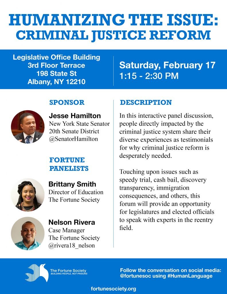 Humanizing the Issue: Criminal Justice Reform