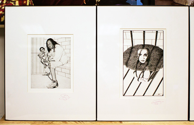 Artwork featured at The Fortune Society's 5th Annual Creative Arts Festival