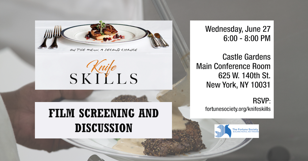 Knife Skills Screening and Discussion