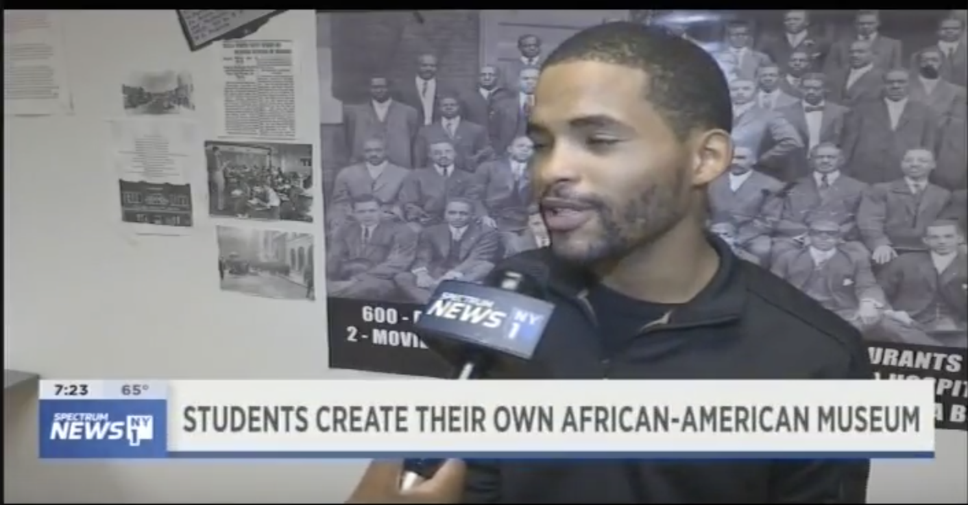 Students Create Their Own African-American Museum