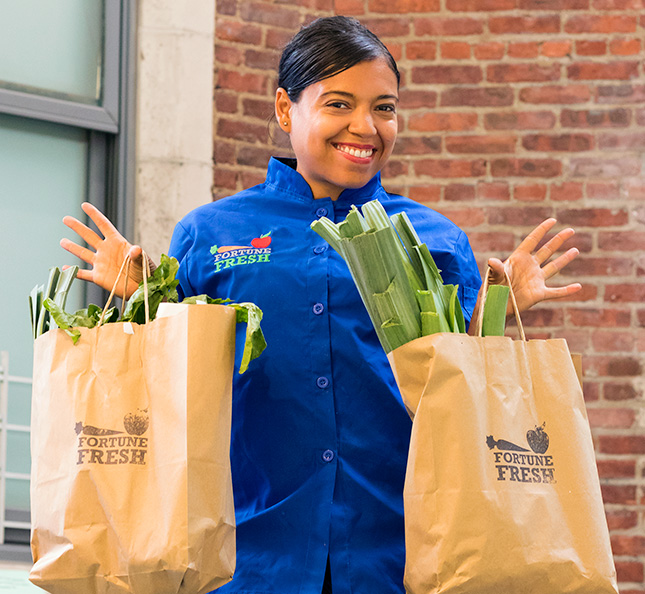 Yadira Garcia, Community Chef at The Fortune Society