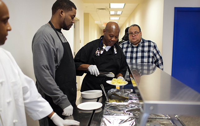 The Fortune Society's Food and Nutrition program helps people access food after prison.