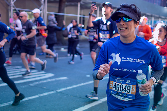 Give to The Fortune Society by setting a New Years resolution to train for the NYC Marathon