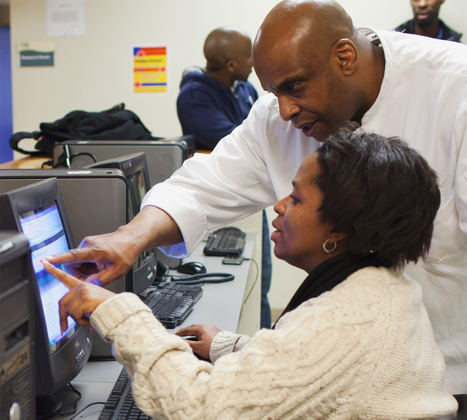 This course helps [individuals with justice involvement] learn the tech they missed in jail