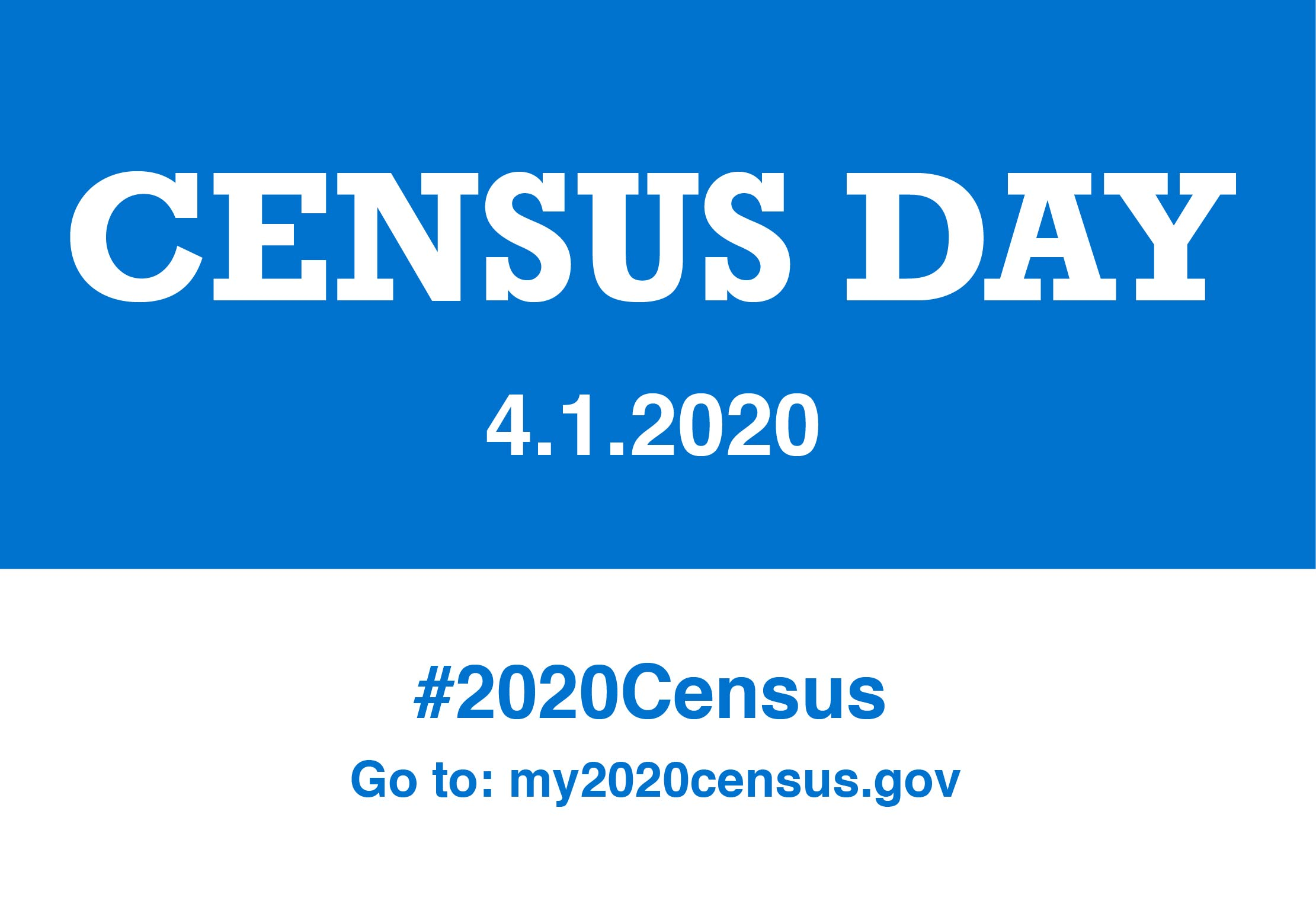 The 2020 Census: Stand and Be Counted