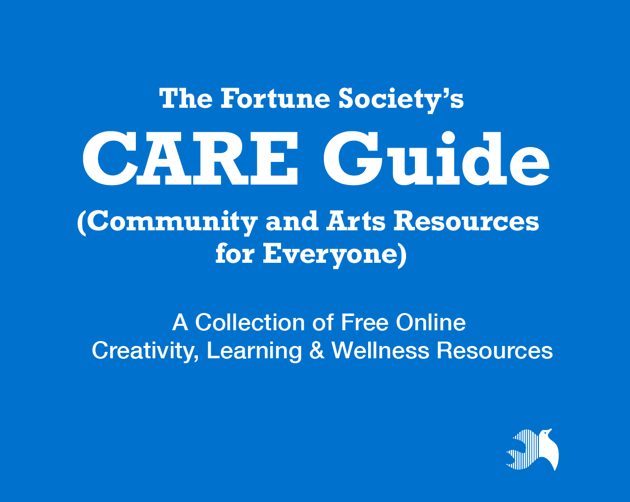Find Resources in The Fortune Society's CARE Guide