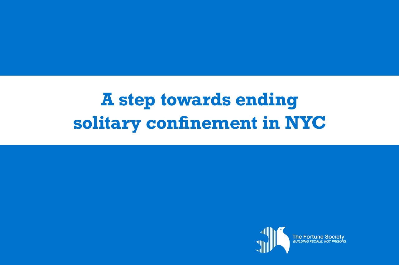 Statement on Ending Solitary Confinement in NYC