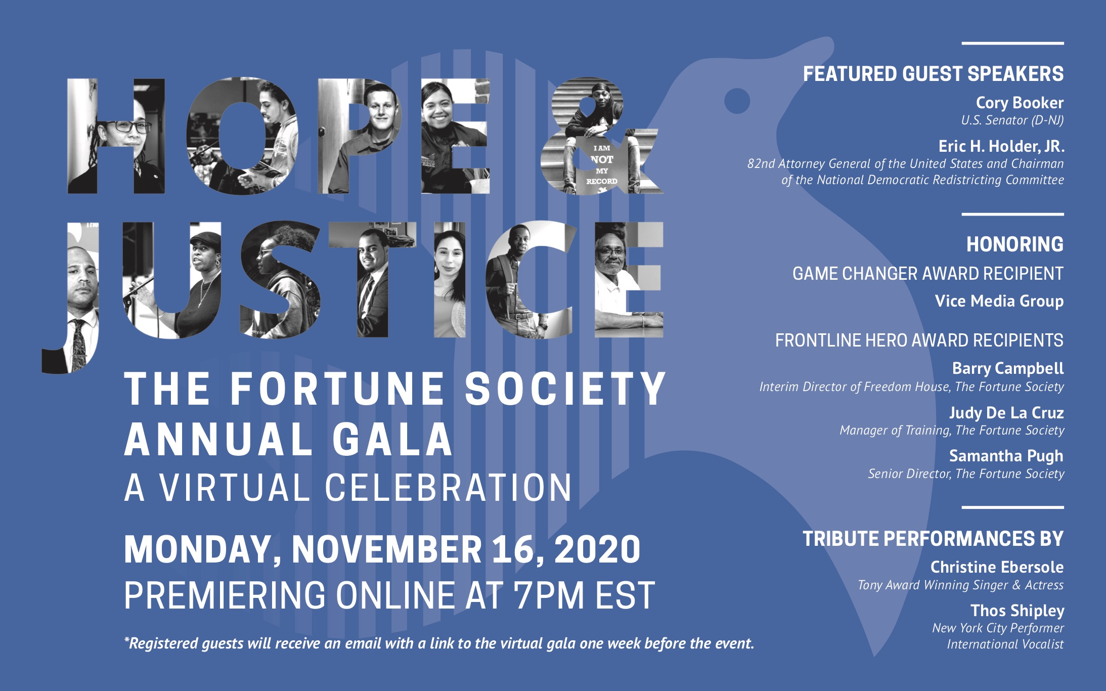 Hope & Justice: The Fortune Society's Annual Gala